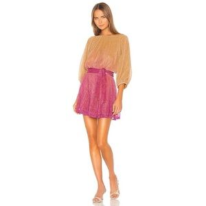 NWT Song Of Style Ombre Sunset Harbor Mini Dress
